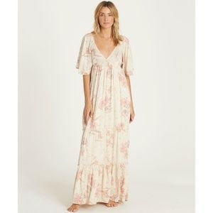 NWT Billabong Seas the Day dress maxi Medium